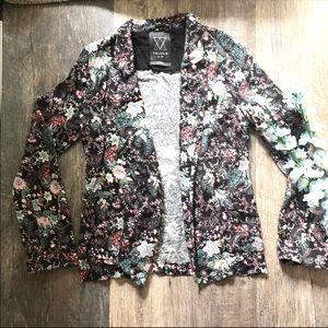 Talula | Floral Knit Kent Blazer Jacket